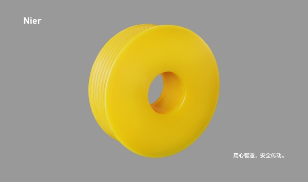 MC尼龙轮丨无筋无孔