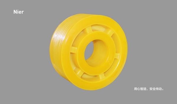 MC尼龙轮丨6筋无孔