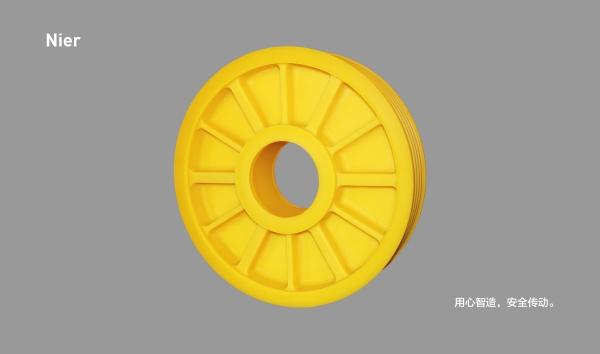 MC尼龙轮丨12筋无孔