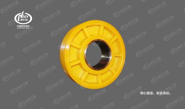 标准化尼龙轮丨320 (钢套)