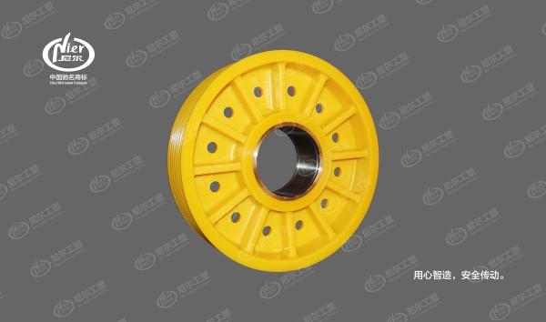 标准化尼龙轮丨400(钢套)