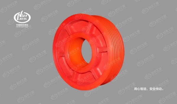 MC尼龙轮(深红)